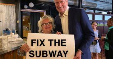 Commie Mayor de Blasio Goes Off After NYC Subway System Breaks Down During Heat Wave… Is Reminded His Wife Blew $850 Million on Sham Social Program