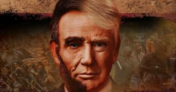 """Dinesh D'Souza to Compare President Trump to Abe Lincoln in Upcoming Film: """"Death of a Nation"""""""
