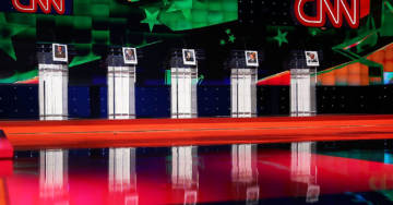 Democratic Debate Line-Up Announced; One Front-Runner Gets Shafted