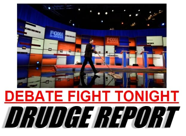 debate fight drudge