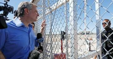 Mayor DeBlasio Visits TX Facility to See 'Abused' Illegal Immigrant Children — Ignores 2 in 5 Kids Living in Poverty in NYC
