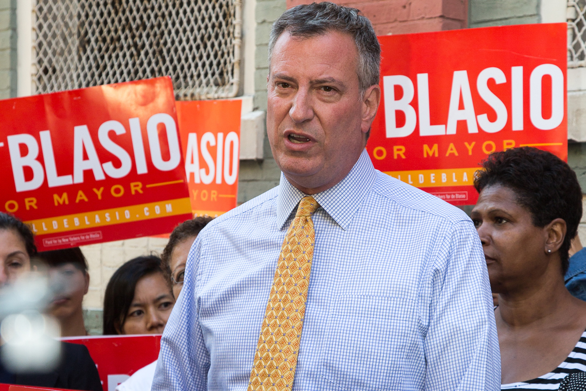Bill de Blasio Blames Trump For Recent Spike in New York Hate Crimes