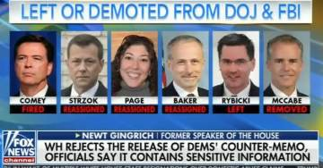 HERE THEY ARE=> The Dirty Dozen Deep State Operatives Who Have been Demoted or Left the DOJ-FBI Since Election