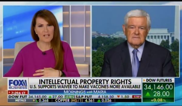 """""""It's Communism!… It Rips Up What We Are as Americans"""" – Degan McDowell Goes Off After Joe Biden Blows Off Intellectual Property Rights on Medical Vaccines (VIDEO)"""