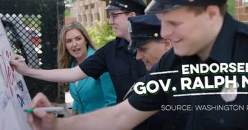 WOW! Dem Candidate Jennifer Wexton Has Staffer Dress as Cop to Fake Police Support in New Ad (VIDEO)