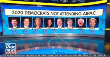STUNNING: ZERO Democratic Candidates for President to Attend Non-Partisan Pro-Israel AIPAC Conference this Year (VIDEO)