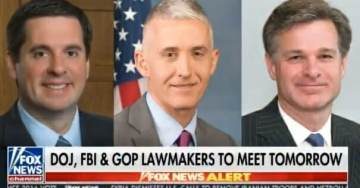 Democrats Attempt to Block Nunes and Gowdy From Viewing Unredacted Documents on FBI Spying on Trump Campaign