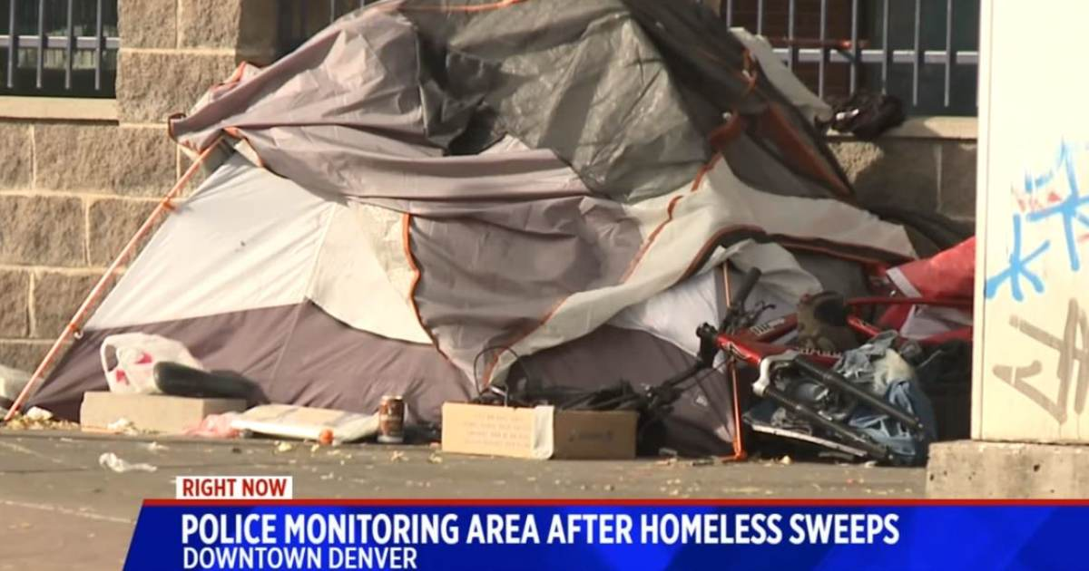 Coming Soon to a Democrat Run City Near You… Denver Business Owner Fined for Not Picking Up the Homeless Sh*t on the Sidewalk Outside his Business