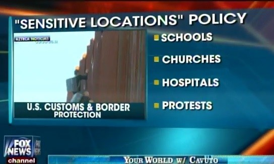dhs sensitive locations