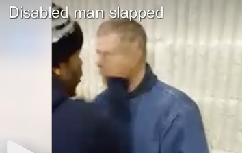 disabled man abused