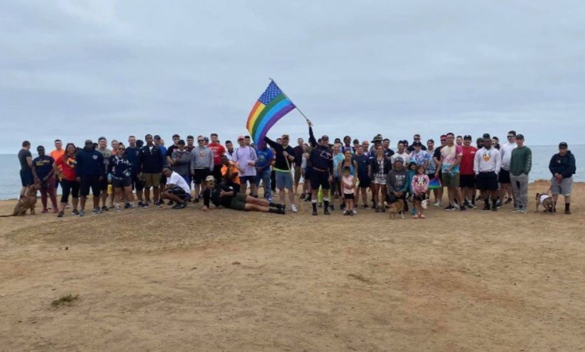 Navy Forces Unit To Cary Gay Flag On March…
