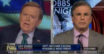 Tom Fitton: McCabe Lied at Least 3 Times, Leaked Classified Documents — Christopher Wray Has Done Zero to Reform the FBI — We're Doing More than DOJ and Congress (VIDEO)