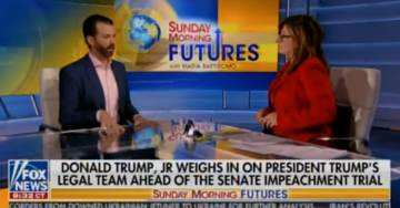 "Donald Trump Jr. on Lev Parnas: ""I Guarantee You My Father Could Not Pick Him Out of a Lineup"" (VIDEO)"