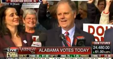 Ultra-Liberal Doug Jones Takes Podium on Election Day – Thanks Liberal Media for their Unprecedented Assistance (Video)