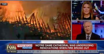 """US Historian Doug Wead on Notre Dame Cathedral Fire: """"I'm heartbroken by the Scene"""" (VIDEO)"""