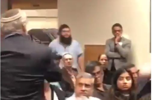 "Democrat FORCIBLY REMOVED From Rutgers ""Muslims for Peace"" Event After Questioning Rashida Tlaib on her Anti-Semitism (VIDEO)"