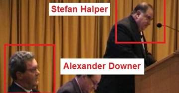 BREAKING: FBI Spy Stefan Halper and Aussie Diplomat Alexander Downer Go Way Back