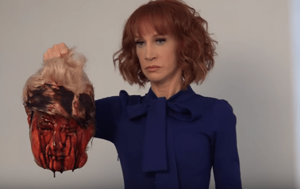 "Kathy Griffin to First Lady Melania Trump: ""F**k You, Melanie… You Feckless Piece of Sh*t"""