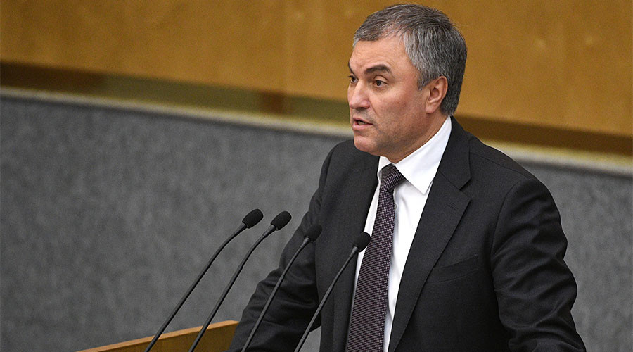Russian State Duma Speaker Warns US of Further Attacks in Syria