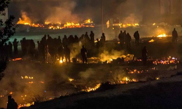 France: Migrants Torch New Migrant Camp 34 Days After Torching Last Migrant Camp