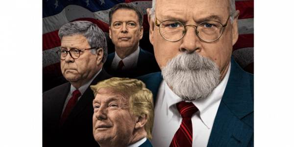 Did AG Barr Create Durham Special Counsel to Prevent President Trump from Releasing Information Related to Crossfire Hurricane?