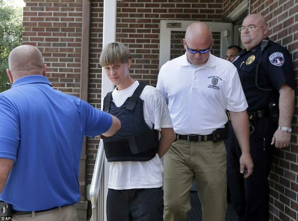dylann storm roof arrest
