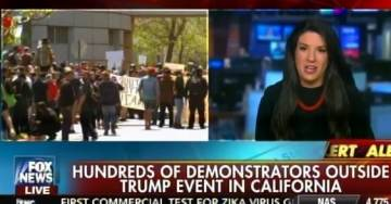 SICK! National Review Editor BLAMES TRUMP SUPPORTERS for BLOODY MOB VIOLENCE at California GOP Rallies!