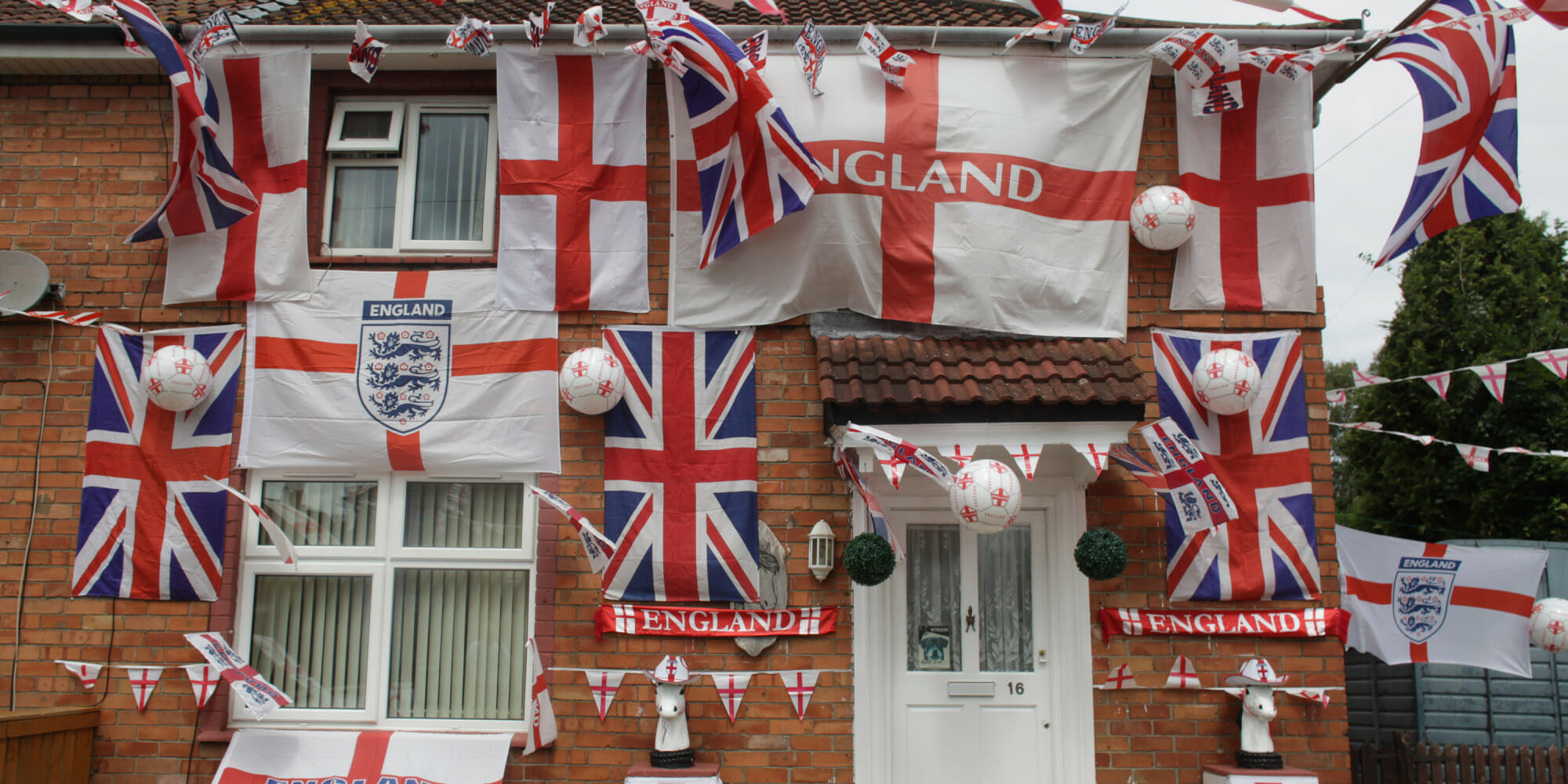 Preparations In The UK Ahead Of The World Cup In Brazil