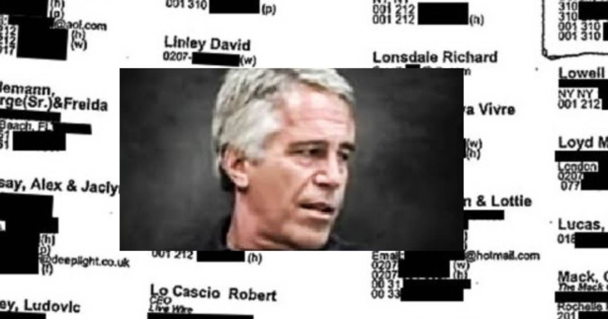 REVEALED: Jeffrey Epstein's Little Black Book — 93 Pages of Contacts, Including Top Politicians and Hollywood Elites