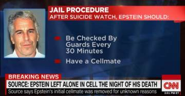 Now This… Both Prison Guards Watching Epstein Were on Overtime, One Guard on His 5th Overtime Shift This Week