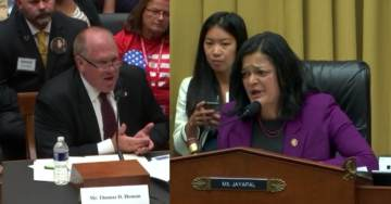"""""""You Work For Me! I'm A Taxpayer!"""": Ex-ICE Director EVISCERATES Democrat Congresswoman During Detention Center Hearing (VIDEO)"""