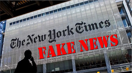 One Year Ago Today The New York Times Reported Their Pick for President… Hint: They Were Way Off!