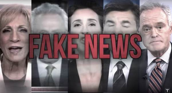 "photo image BOOM! President Trump: America's Greatest Enemy Is Fake Liberal News ""Promulgated by Fools!"""