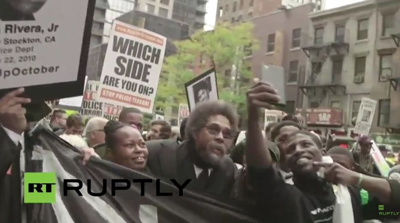 """VIDEO=> HUNDREDS of #BlackLivesMatter Protesters March in NYC Chanting """"F*ck the Police!"""""""