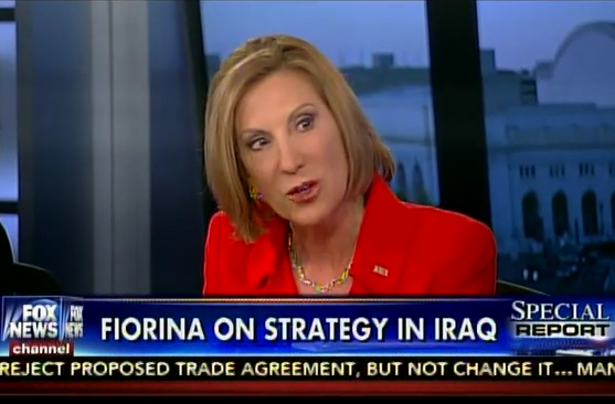fiorina special report carly
