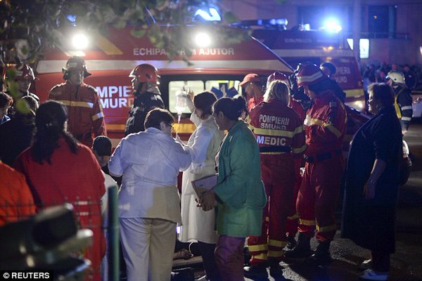 Breaking: At Least 25 People Dead at Romanian Nightclub in Fire and Stampede (VIDEO)