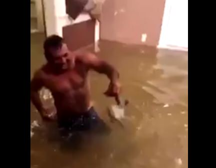 SEE IT: Man catches fish in Houston home flooded by Harvey - NY ...