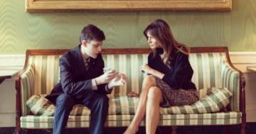 VIDEO: Lovely First Lady Melania Trump Meets With Pro-Gun Parkland Student at White House After Anti-Gun Students Hung Up on President