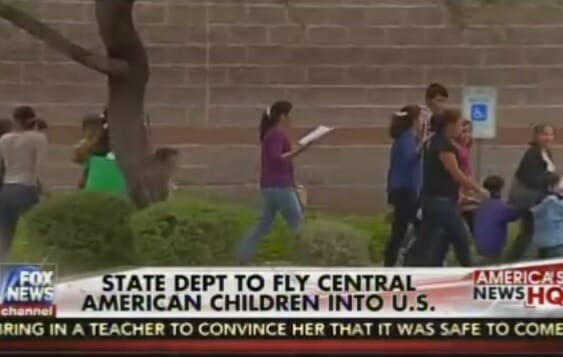 fly illegals