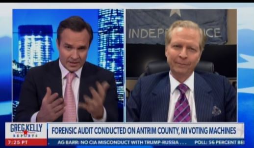 """There's Going to Be Evidence that Comes Forward in Next Few Days what Will Drastically Change the Playing Field"" — Security Expert Behind Antrim County Audit Says Something Big Is Coming (VIDEO) (thegatewaypundit.com)"