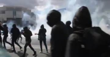 LIVE FROM PARIS (VIDEO) – Chaos As Students, Anarchists Run Riot Across Capital