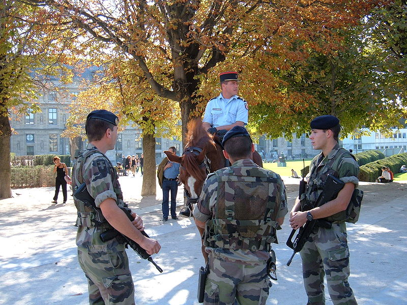 franch soldiers