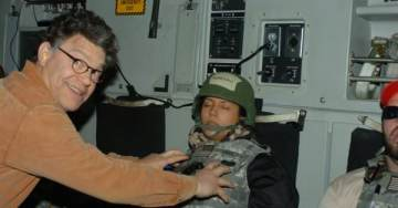 PHOTO Emerges of Creepy Al Franken Planting a Wet Kiss on Leeann Tweeden