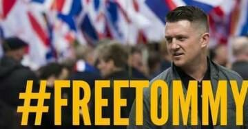 BREAKING: Tommy Robinson Sentenced to Six Months in Prison, Will Be Sent Back Today
