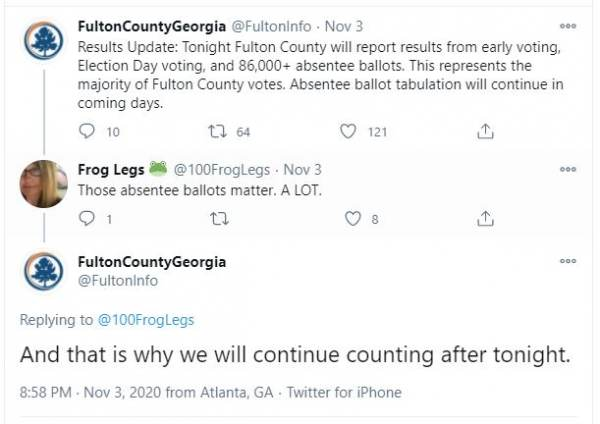 """CONFIRMED: Supervisor Shaye Moss – Who """"Yelled Out"""" for Georgia GOP Observers to Go Home – Is Same Woman Who Pulled the Suitcase Ballots Out from Underneath the Table When they Left 7"""
