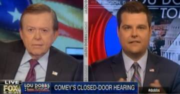 """Rep. Matt Gaetz on Comey Deep State Crimes: """"Republican Leadership Did Not Want Us to Get to the Bottom of the Facts"""" (VIDEO)"""