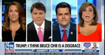 Rep. Gaetz: Rosenstein Won't Tell Us When He Learned Nellie Ohr Was Working For Fusion GPS… There's a Real Smoking Gun There (VIDEO)