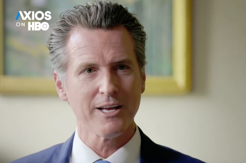 "Feminist Governor Gavin Newsom Tells Axios: ""Hyper-Masculinity"" Will Push Republicans to ""Third Party"" Status in 10-15 Years (VIDEO)"