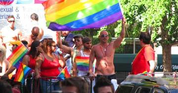 Democratic Socialists of America Protest Gay Pride Parade Over Corporate Ties, Police Support