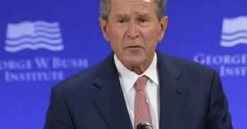 George W. Bush Raising Money For Republicans In Texas – But Not Ted Cruz?